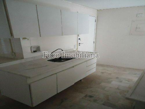 COZINHA - Apartamento à venda Rua João Líra,Leblon, Rio de Janeiro - R$ 3.300.000 - FA33112 - 4