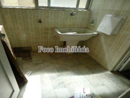 ÁREA SERVIÇO - Apartamento à venda Rua João Líra,Leblon, Rio de Janeiro - R$ 3.300.000 - FA33112 - 24