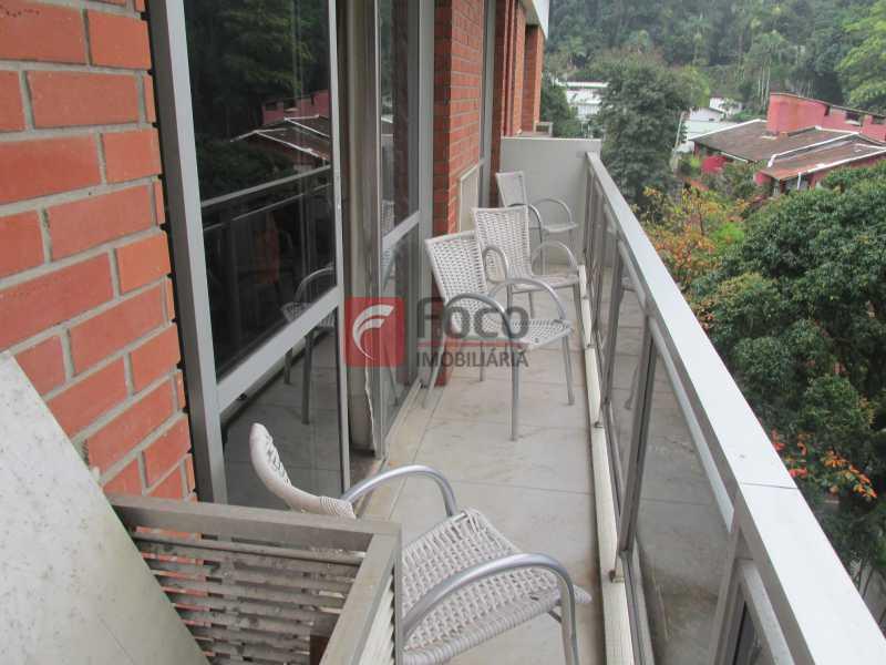 varanda - Apartamento à venda Rua Marquês de São Vicente,Gávea, Rio de Janeiro - R$ 2.520.000 - JBAP40099 - 4