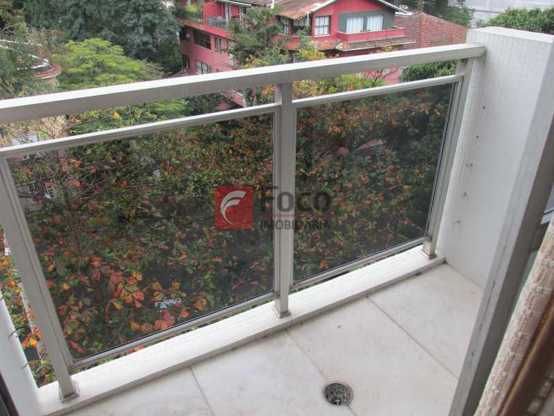 sacada da suite - Apartamento à venda Rua Marquês de São Vicente,Gávea, Rio de Janeiro - R$ 2.520.000 - JBAP40099 - 13