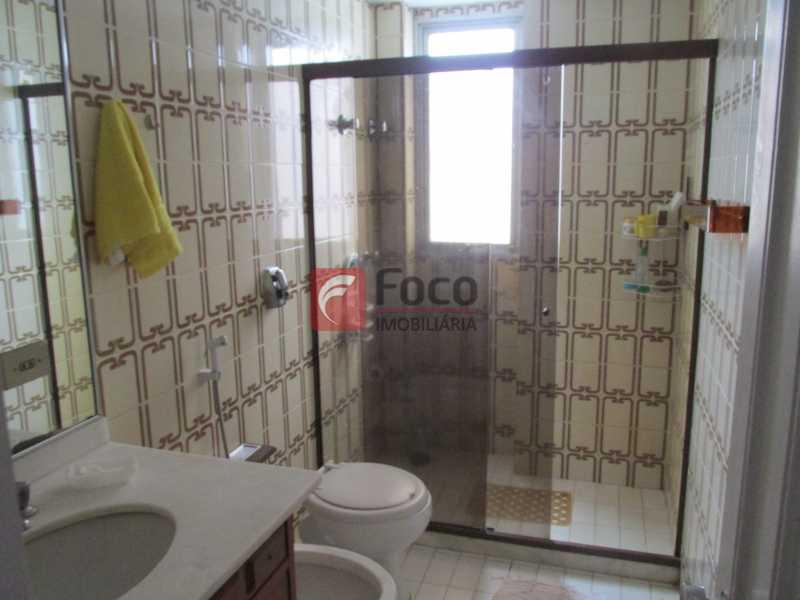 banheiro social - Apartamento à venda Rua Marquês de São Vicente,Gávea, Rio de Janeiro - R$ 2.520.000 - JBAP40099 - 23