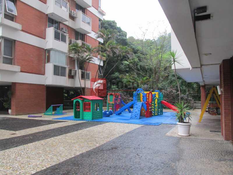 playground - Apartamento à venda Rua Marquês de São Vicente,Gávea, Rio de Janeiro - R$ 2.520.000 - JBAP40099 - 19