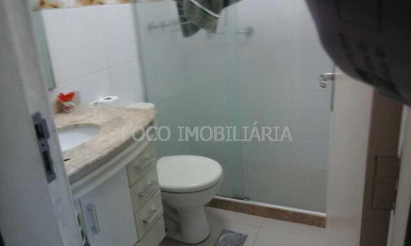banheiro social - Apartamento à venda Avenida Padre Leonel Franca,Gávea, Rio de Janeiro - R$ 1.400.000 - JBAP40104 - 16
