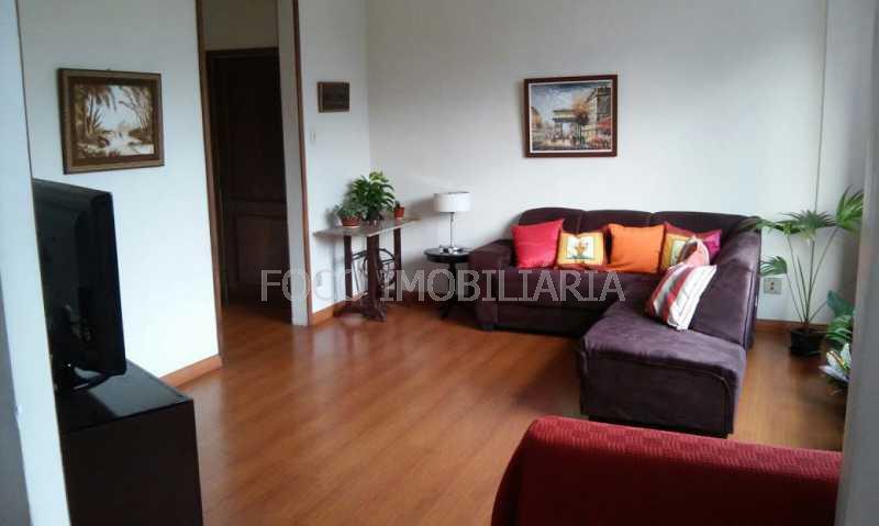 sala  - Apartamento à venda Avenida Padre Leonel Franca,Gávea, Rio de Janeiro - R$ 1.400.000 - JBAP40104 - 3