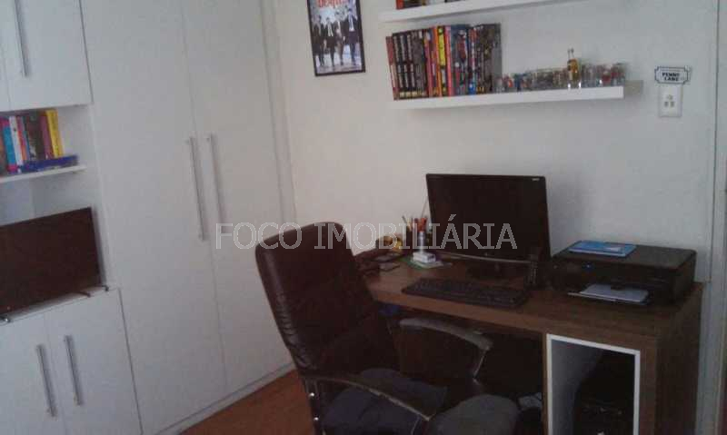 quarto/escritório - Apartamento à venda Avenida Padre Leonel Franca,Gávea, Rio de Janeiro - R$ 1.400.000 - JBAP40104 - 15