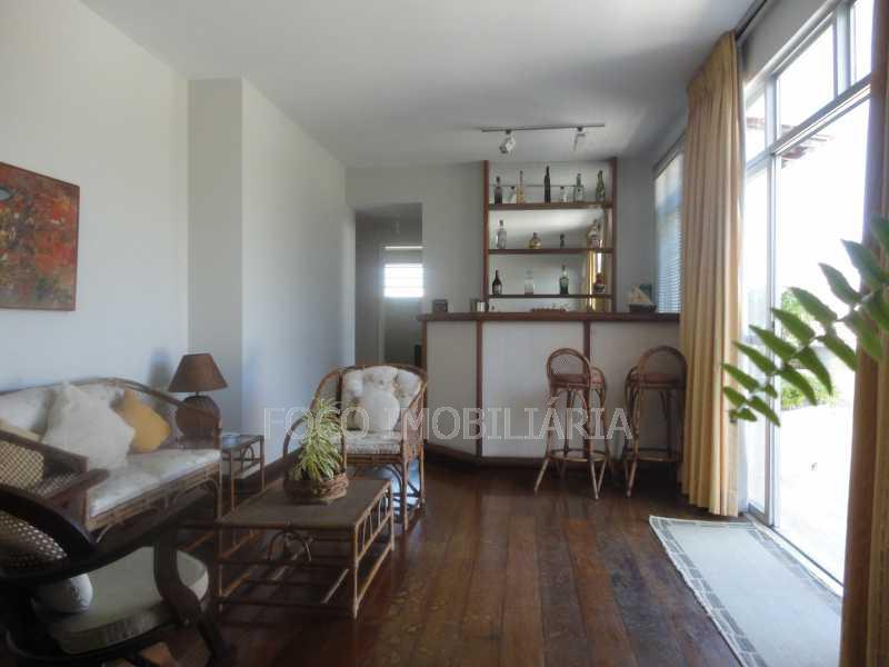 sala segundo piso - Cobertura 4 quartos à venda Jardim Botânico, Rio de Janeiro - R$ 3.700.000 - JBCO40032 - 5