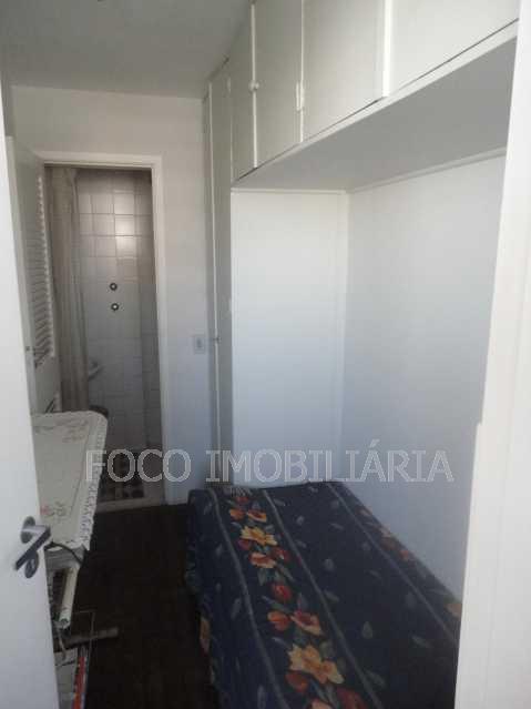 suíte de empregada - Cobertura 4 quartos à venda Jardim Botânico, Rio de Janeiro - R$ 3.700.000 - JBCO40032 - 24
