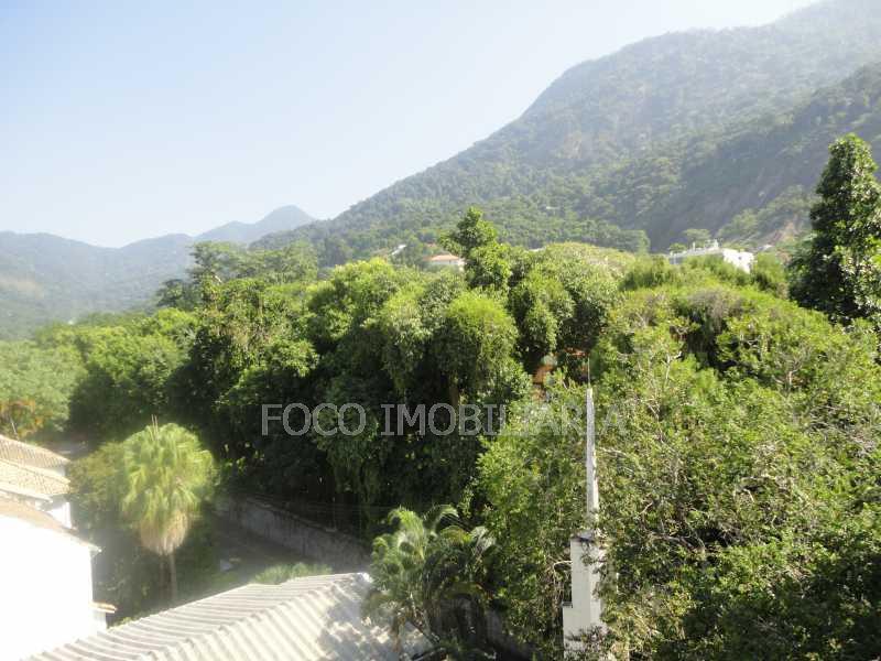 vista 4 - Cobertura 4 quartos à venda Jardim Botânico, Rio de Janeiro - R$ 3.700.000 - JBCO40032 - 13