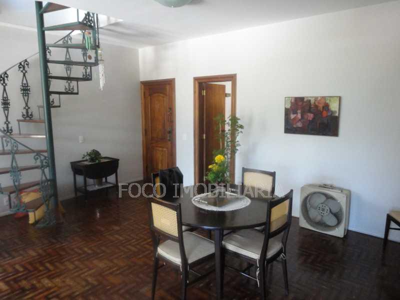 sala de jantar - Cobertura 4 quartos à venda Jardim Botânico, Rio de Janeiro - R$ 3.700.000 - JBCO40032 - 9