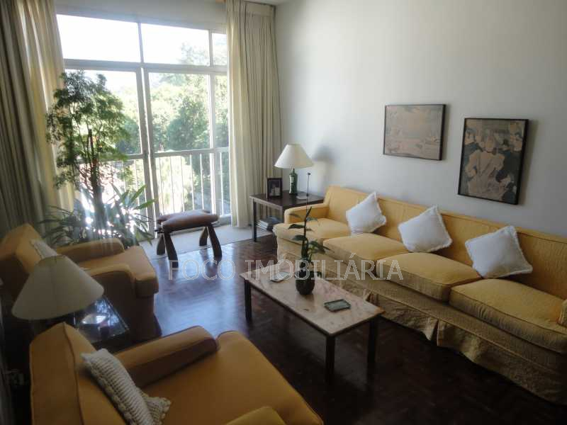 sala de estar - Cobertura 4 quartos à venda Jardim Botânico, Rio de Janeiro - R$ 3.700.000 - JBCO40032 - 4