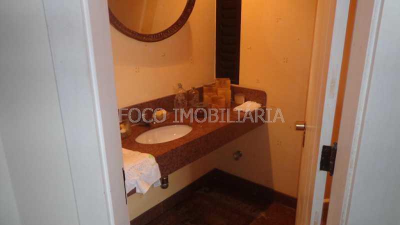LAVABO - Apartamento 4 quartos à venda Lagoa, Rio de Janeiro - R$ 6.500.000 - FLAP40267 - 9