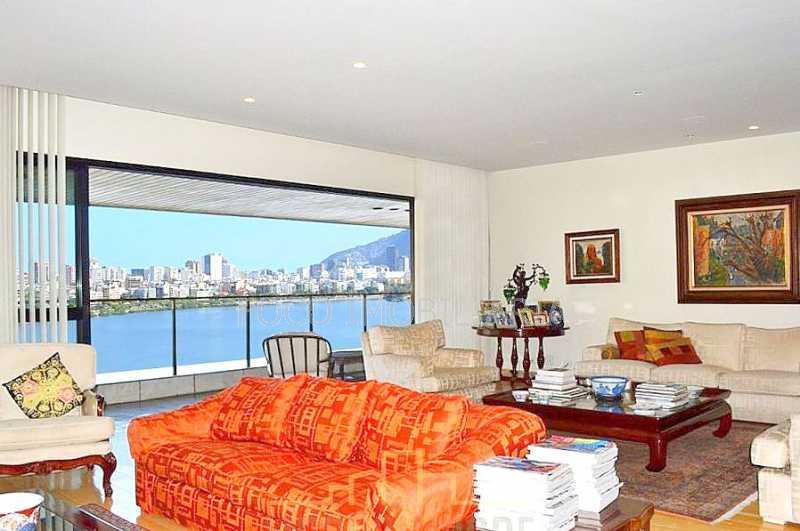 SALAO - Apartamento 4 quartos à venda Lagoa, Rio de Janeiro - R$ 6.500.000 - FLAP40267 - 6