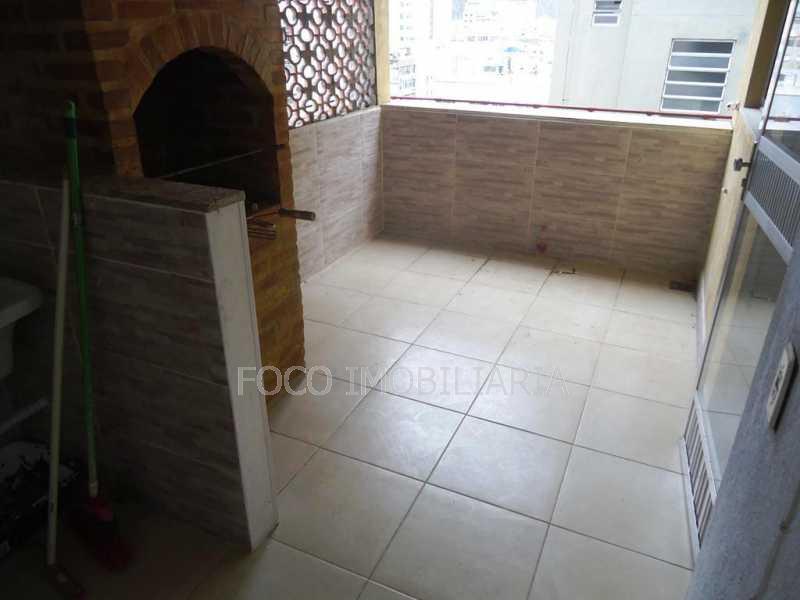 TERRAÇO - Apartamento à venda Avenida Nossa Senhora de Copacabana,Copacabana, Rio de Janeiro - R$ 1.050.000 - FLAP21164 - 23