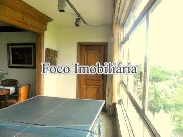 VARANDA INTERNA - Apartamento à venda Avenida Rui Barbosa,Flamengo, Rio de Janeiro - R$ 3.100.000 - FA40230 - 16