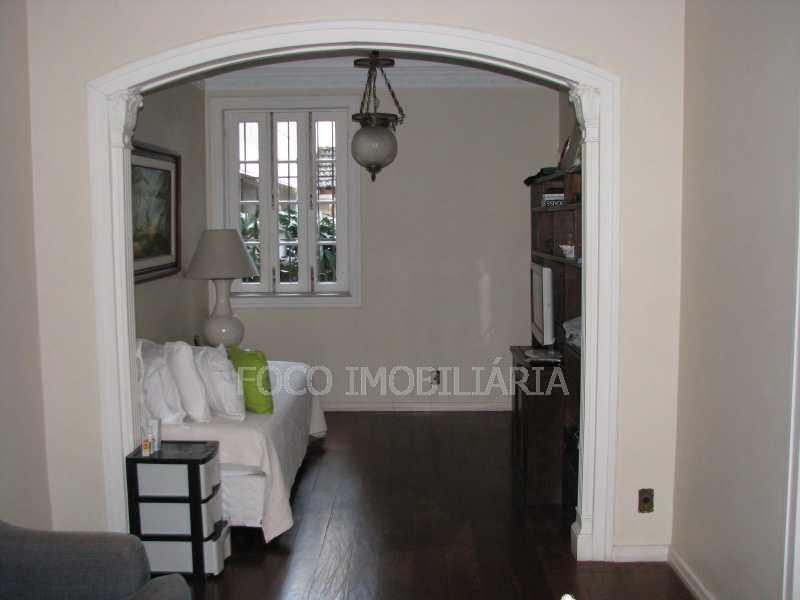 Sala - Casa à venda Rua Eurico Cruz,Jardim Botânico, Rio de Janeiro - R$ 4.700.000 - FLCA40045 - 5