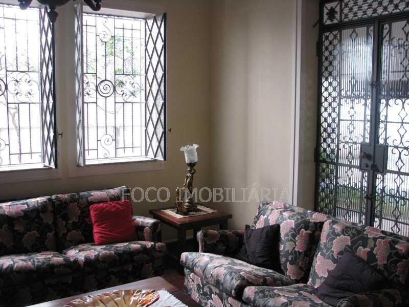 sala Estar - Casa à venda Rua Eurico Cruz,Jardim Botânico, Rio de Janeiro - R$ 4.700.000 - FLCA40045 - 1