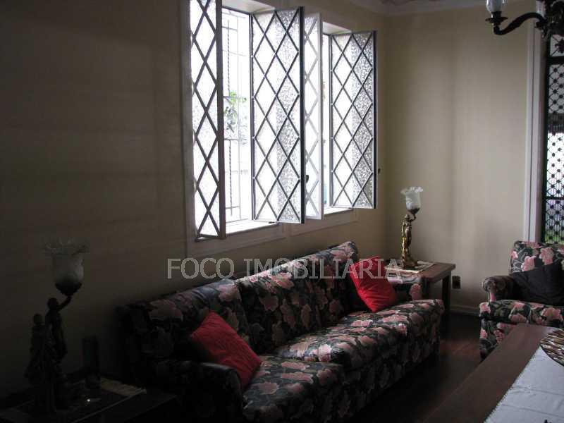 sala Estar - Casa à venda Rua Eurico Cruz,Jardim Botânico, Rio de Janeiro - R$ 4.700.000 - FLCA40045 - 9