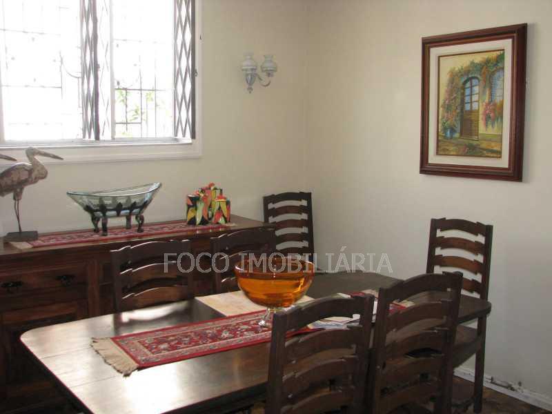 sala Jantar - Casa à venda Rua Eurico Cruz,Jardim Botânico, Rio de Janeiro - R$ 4.700.000 - FLCA40045 - 11