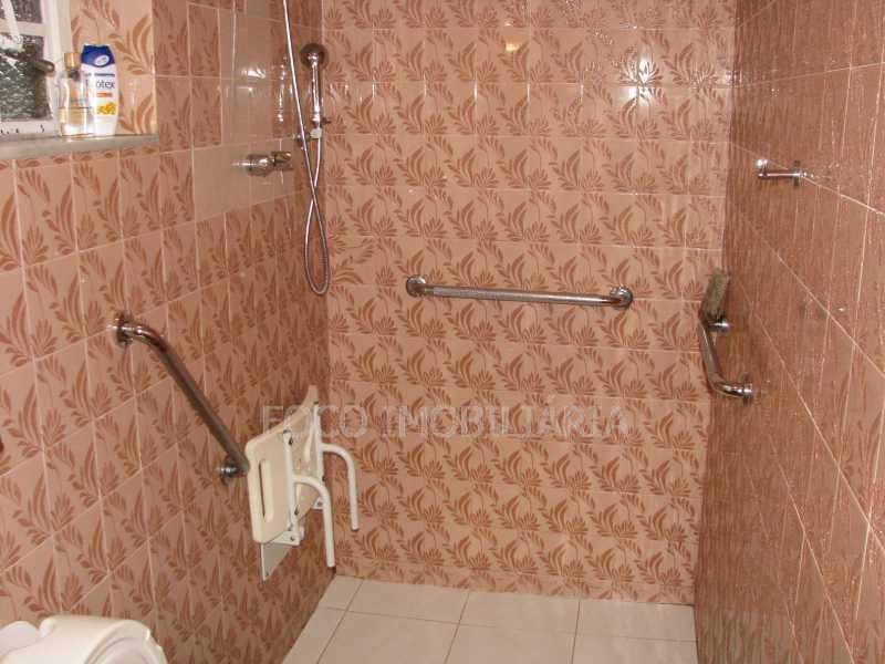 Banheiro Social - Casa à venda Rua Eurico Cruz,Jardim Botânico, Rio de Janeiro - R$ 4.700.000 - FLCA40045 - 12