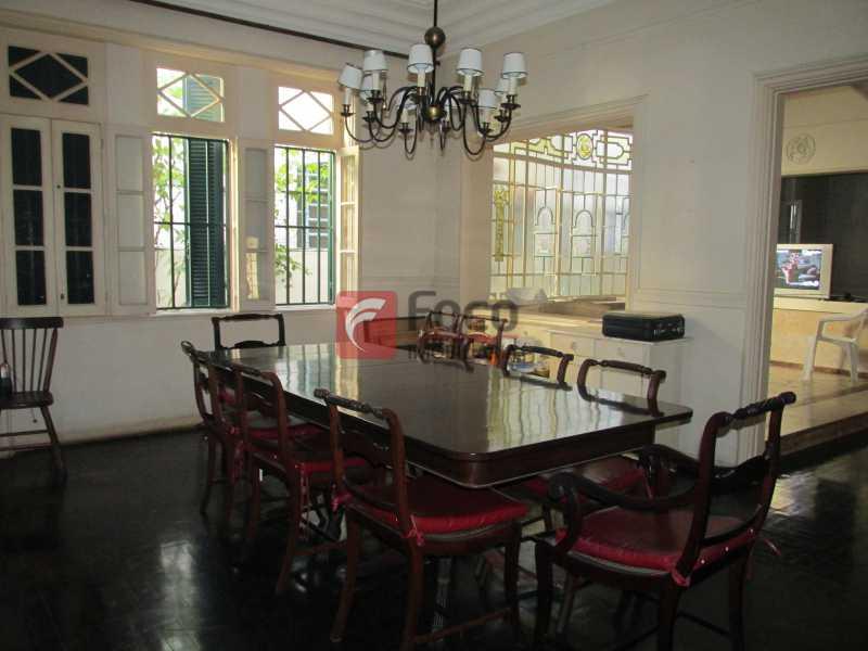 sala de jantar - Casarão tipo Sobrado em Botafogo podendo servir para moradia ou comercial - 5 Quartos - 6 Vagas - JBCA50010 - 5