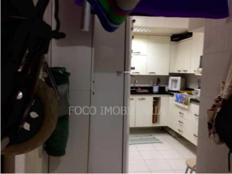 ÁREA SERVIÇO - Apartamento à venda Rua Bento Lisboa,Catete, Rio de Janeiro - R$ 550.000 - FLAP10727 - 19