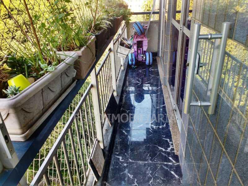 VARANDA - Apartamento à venda Rua Leite Leal,Laranjeiras, Rio de Janeiro - R$ 1.600.000 - FLAP31078 - 9