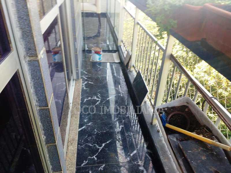 VARANDA - Apartamento à venda Rua Leite Leal,Laranjeiras, Rio de Janeiro - R$ 1.600.000 - FLAP31078 - 11