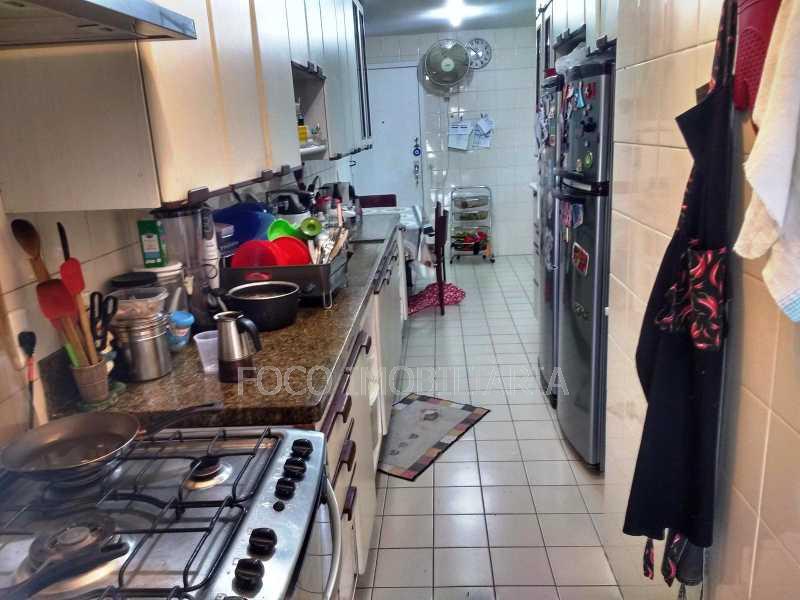 COPA/COZINHA - Apartamento à venda Rua Leite Leal,Laranjeiras, Rio de Janeiro - R$ 1.600.000 - FLAP31078 - 20