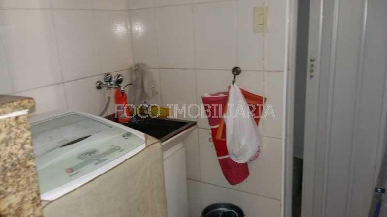 ÁREA SERVIÇO - Apartamento à venda Rua Pinheiro Machado,Laranjeiras, Rio de Janeiro - R$ 550.000 - FLAP21236 - 19