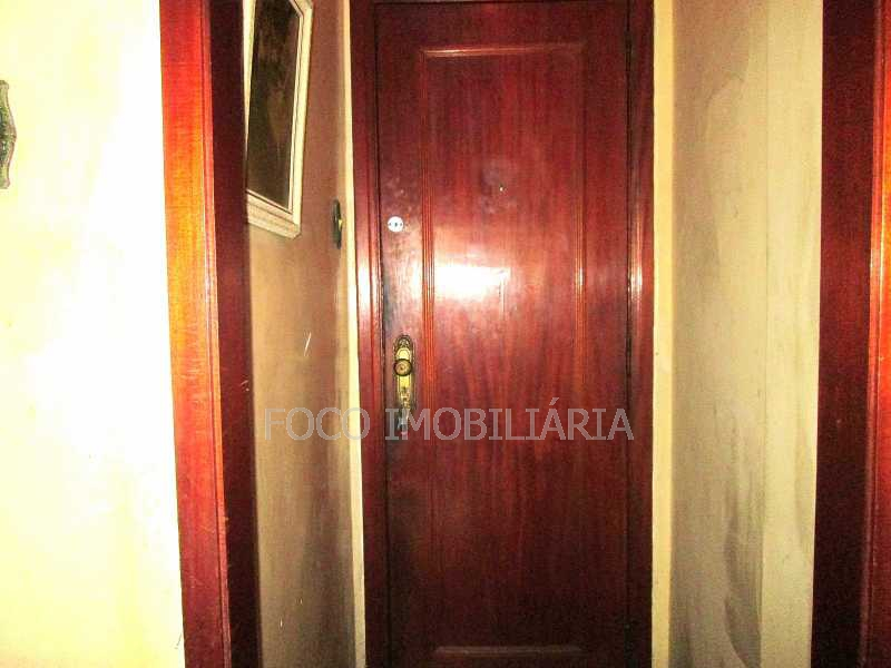 ENTRADA - Apartamento à venda Rua do Humaitá,Humaitá, Rio de Janeiro - R$ 780.000 - FLAP21264 - 9