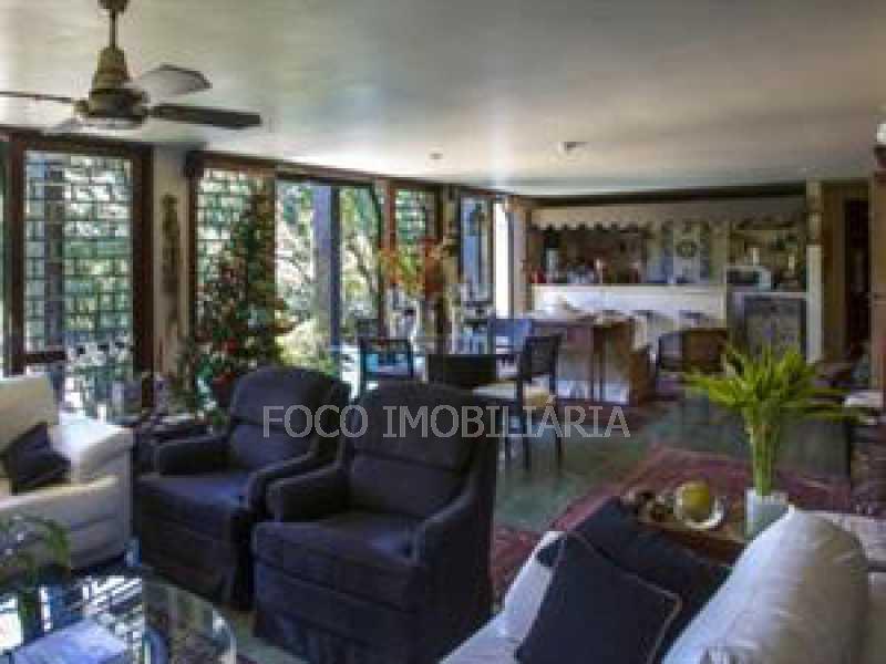 SALA ESTAR - Casa em Condomínio à venda Rua Tenente Márcio Pinto,Gávea, Rio de Janeiro - R$ 5.500.000 - JBCN50002 - 5