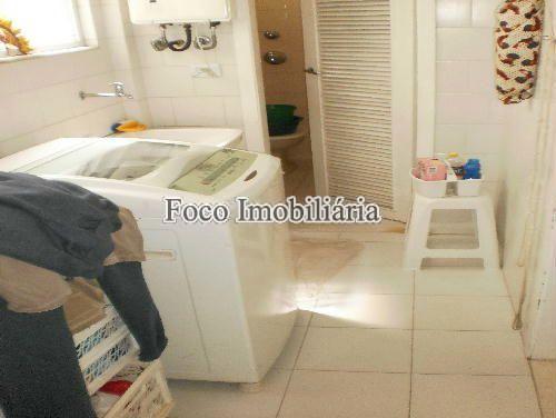 ÁREA SERVIÇO - Apartamento à venda Rua Prudente de Morais,Ipanema, Rio de Janeiro - R$ 2.450.000 - FA40622 - 6