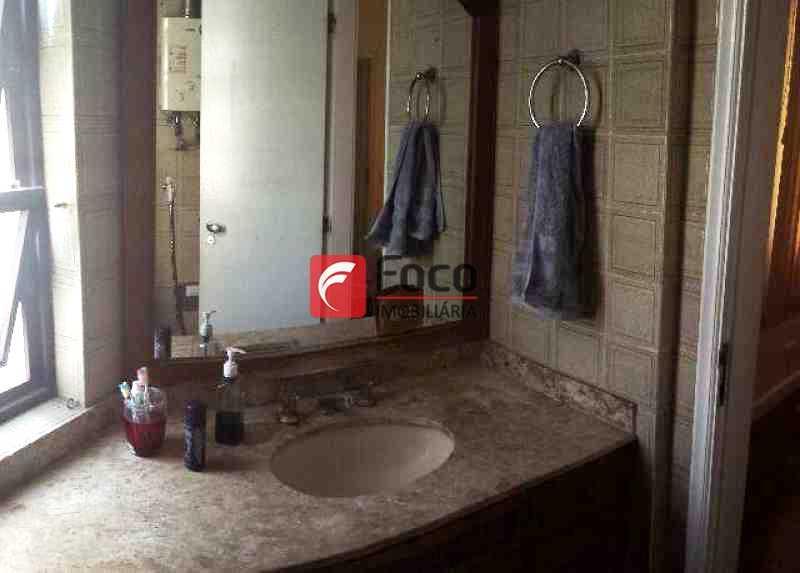 BANHEIRO - Apartamento à venda Rua Professor Manuel Ferreira,Gávea, Rio de Janeiro - R$ 2.300.000 - JBAP30561 - 16