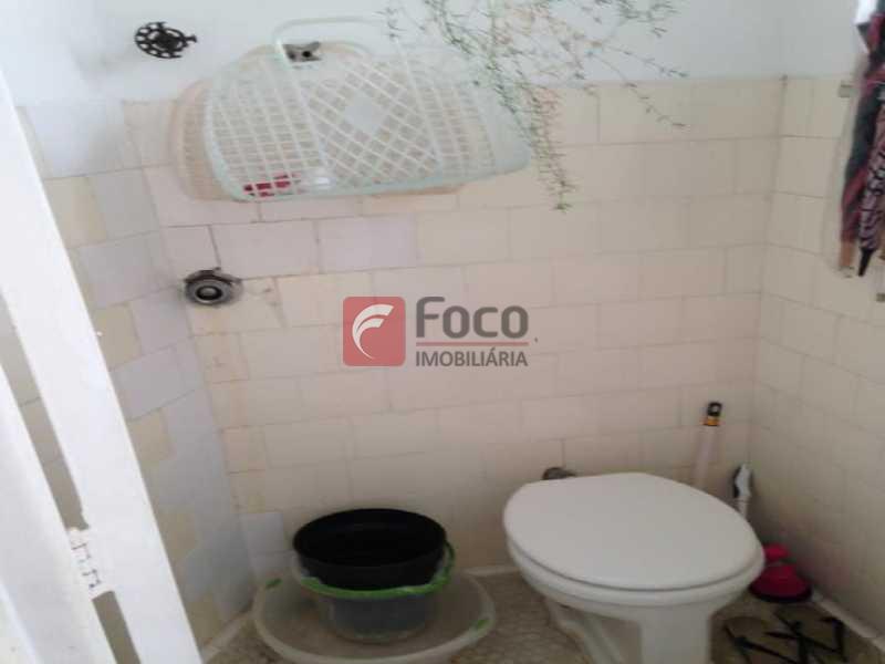 banheiro de empregada - Apartamento à venda Rua Visconde da Graça,Jardim Botânico, Rio de Janeiro - R$ 1.100.000 - JBAP20446 - 14