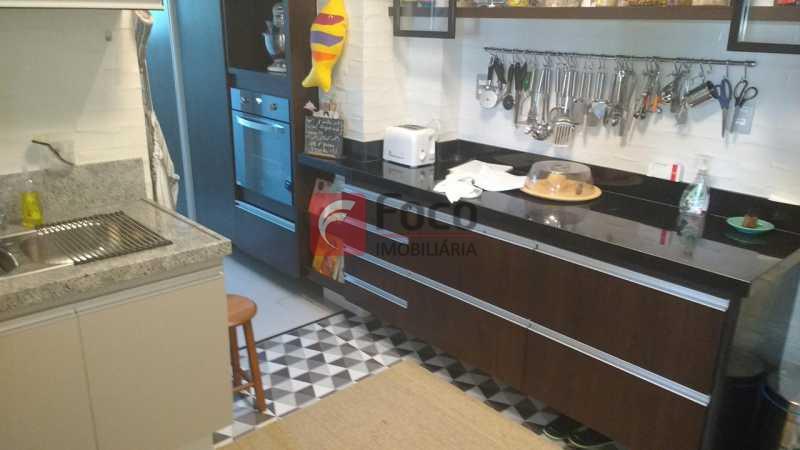 COZINHA AMERICANA - Apartamento à venda Rua Viúva Lacerda,Humaitá, Rio de Janeiro - R$ 1.650.000 - FLAP31212 - 18
