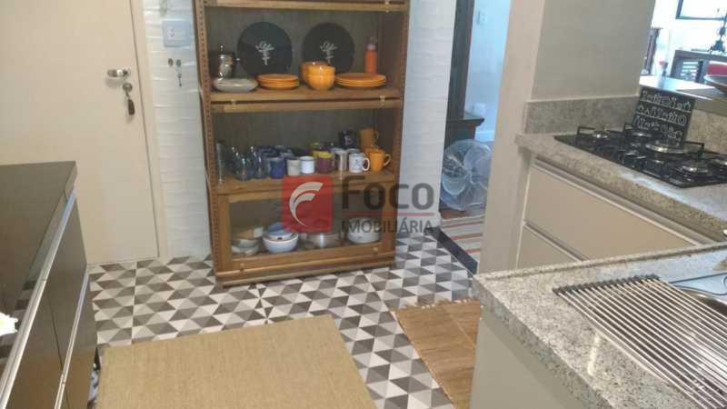 COZINHA AMERICANA - Apartamento à venda Rua Viúva Lacerda,Humaitá, Rio de Janeiro - R$ 1.735.000 - FLAP31212 - 19