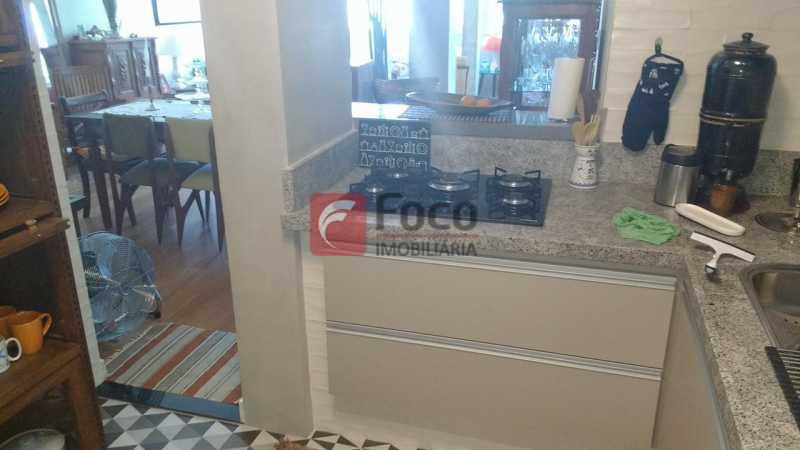 COZINHA AMERICANA - Apartamento à venda Rua Viúva Lacerda,Humaitá, Rio de Janeiro - R$ 1.735.000 - FLAP31212 - 21