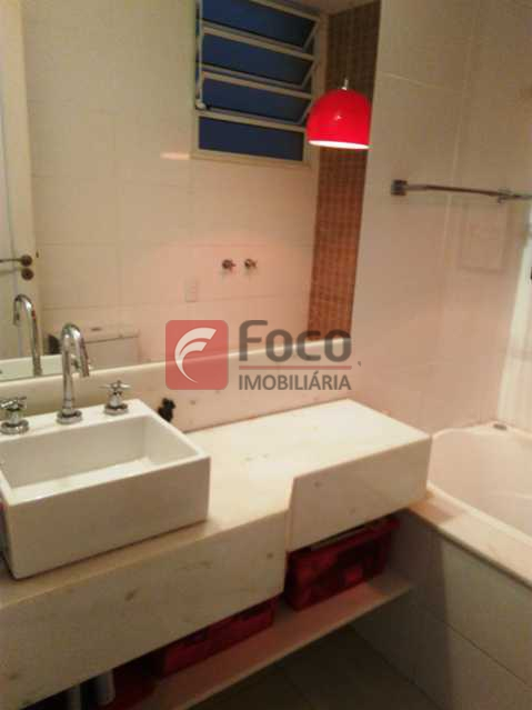 BANHEIRO SOCIAL - Apartamento à venda Rua Voluntários da Pátria,Botafogo, Rio de Janeiro - R$ 950.000 - FLAP21383 - 10