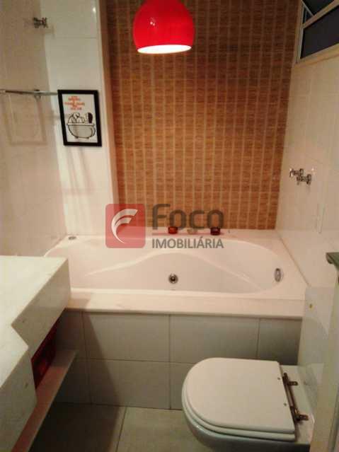 BANHEIRO SOCIAL - Apartamento à venda Rua Voluntários da Pátria,Botafogo, Rio de Janeiro - R$ 950.000 - FLAP21383 - 14