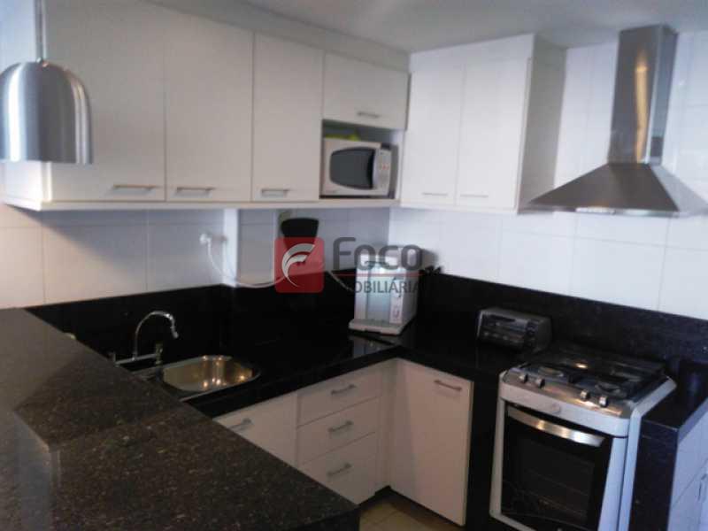COZINHA AMERICANA - Apartamento à venda Rua Voluntários da Pátria,Botafogo, Rio de Janeiro - R$ 950.000 - FLAP21383 - 16