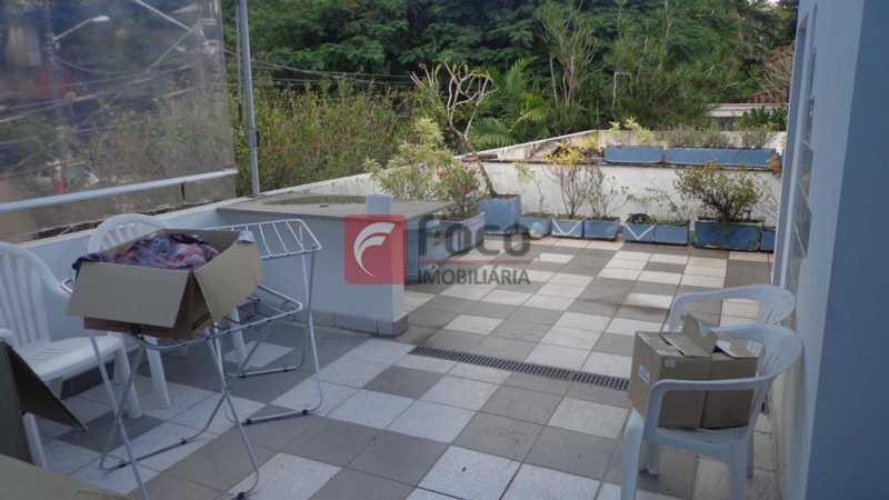 TERRAÇO 2 PISO - Casa à venda Rua Fernando Magalhães,Jardim Botânico, Rio de Janeiro - R$ 6.000.000 - FLCA70005 - 27