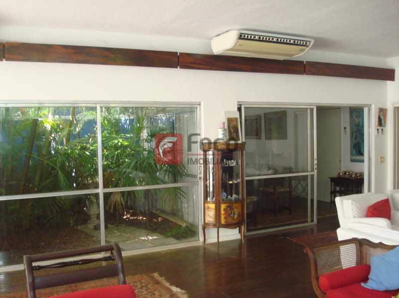 SALÃO E JARDIM DE INVERNO - Casa à venda Rua Fernando Magalhães,Jardim Botânico, Rio de Janeiro - R$ 6.000.000 - FLCA70005 - 1