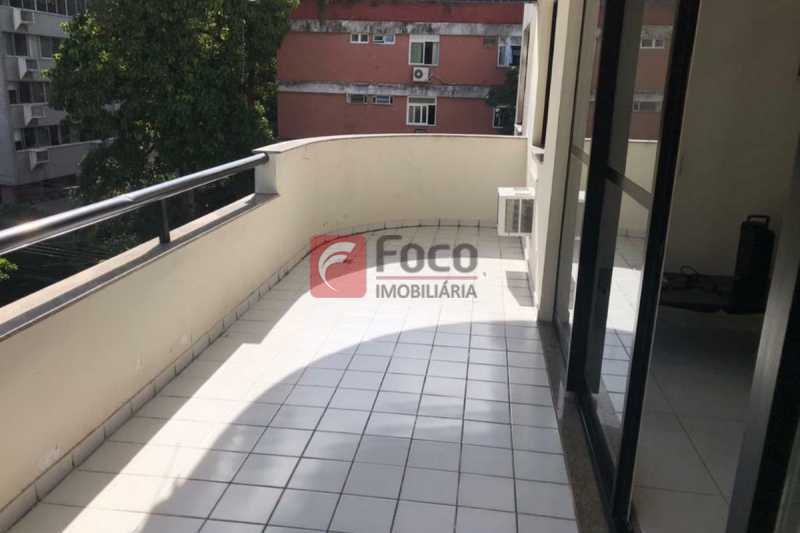 VARANDA - Cobertura à venda Travessa Madre Jacinta,Gávea, Rio de Janeiro - R$ 2.550.000 - JBCO40039 - 3