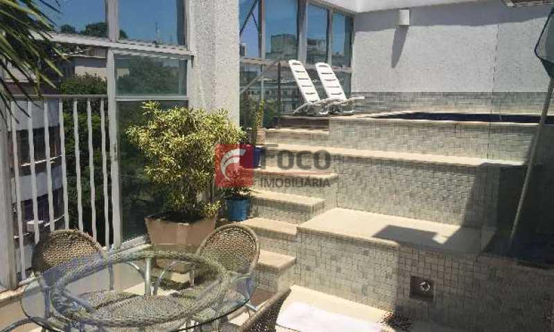 Terraço - Cobertura à venda Rua Assis Brasil,Copacabana, Rio de Janeiro - R$ 3.460.000 - JBCO40042 - 3