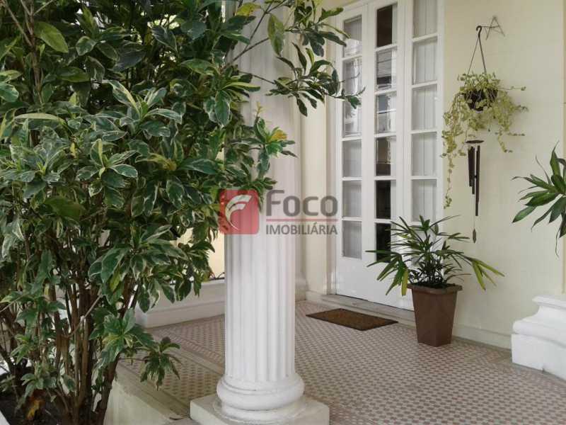 VARANDA ENTRADA - Casa à venda Rua Fernando Osório,Flamengo, Rio de Janeiro - R$ 4.000.000 - FLCA80006 - 4