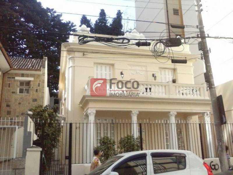 FACHADA - Casa à venda Rua Fernando Osório,Flamengo, Rio de Janeiro - R$ 4.000.000 - FLCA80006 - 1