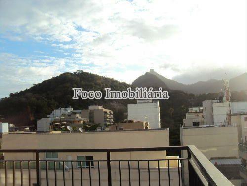 VISTA - Cobertura à venda Rua Marquês de Pinedo,Laranjeiras, Rio de Janeiro - R$ 2.200.000 - FC40137 - 9