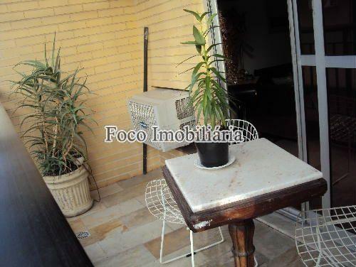 VARANDA - Cobertura à venda Rua Marquês de Pinedo,Laranjeiras, Rio de Janeiro - R$ 2.200.000 - FC40137 - 5