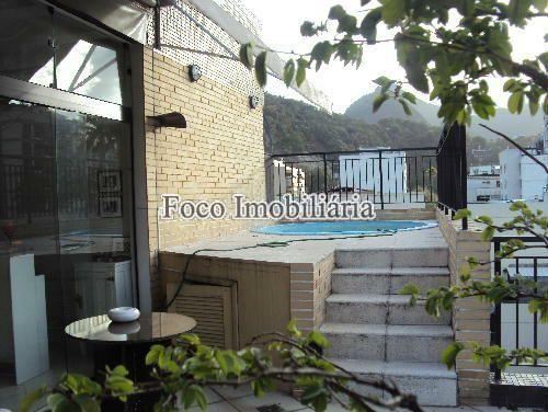 TERRAÇO - Cobertura à venda Rua Marquês de Pinedo,Laranjeiras, Rio de Janeiro - R$ 2.200.000 - FC40137 - 1