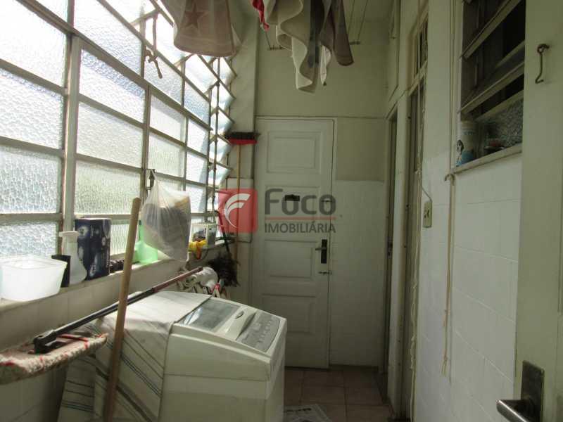 ÁREA SERVIÇO - Apartamento à venda Rua Viúva Lacerda,Humaitá, Rio de Janeiro - R$ 1.400.000 - FLAP31528 - 9